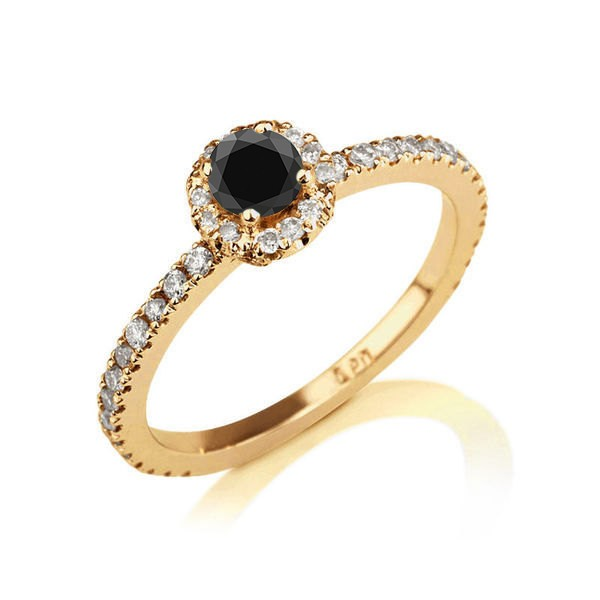 50-carat-round-cut-black-diamond-white-diamond-halo-engagement-ring-in-10k-yellow-gold